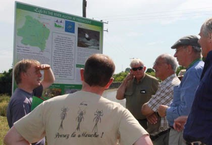 9 c Blackwater River Trust receive demonstration of signage