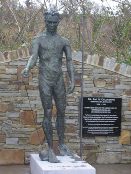 Dr Pat O'Callaghan Monument