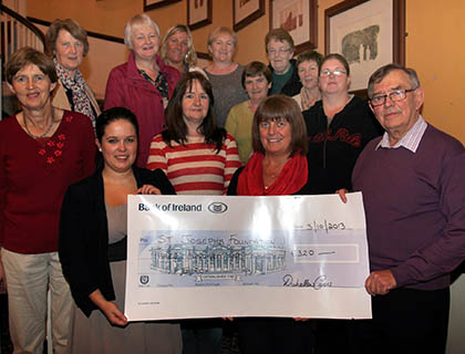 Carers Cheque Presentation