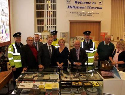 4Taoiseach Enda Kenny at Millstreet Museum 12 June 2015 -800