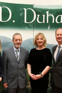 MEP Sean Kelly and Liadh Ni Riada with Michael Twohig & Mary Creedon of IRD Duhallow @ the Communicating Europe Initiative